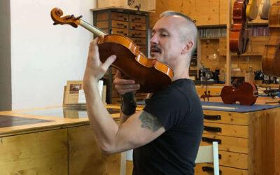 Fichte ist das Holz für den Geigenbau